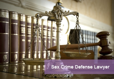 Sex Crime Defense Lawyer